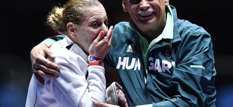 A magyar olimpiai aranyak vívásban