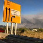 Durva videók jöttek a Splitet fenyegető pusztító horvát tűzről