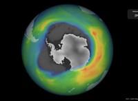 Hatalmas ózonlyuk tátong az Antarktisz felett
