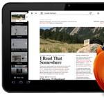 Érkezik a Firefox táblagépes verziója [képek]