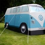 Tudjuk, miben alszol idén nyáron: a Volkswagen hippibusz sátorban