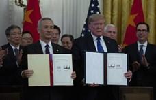 Megkötötte a tűzszünetet az USA és Kína