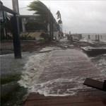 Megérkezett Floridába a Matthew hurrikán
