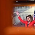 Pelosi: Nem nyertünk meg minden képviselőházi csatát, de megnyertük a háborút