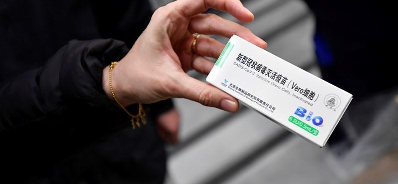 Sinopharm-vakcinát kért Pekingtől Prága