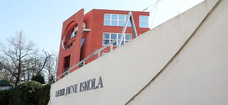30 koronavírus-fertőzött diákot és tanárt diagnosztizáltak a Lauder Javne iskolában