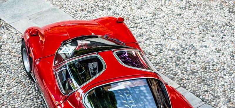 Mi más, mint egy ilyen Alfa Romeo nyerhetné el a legszebb autó címét?