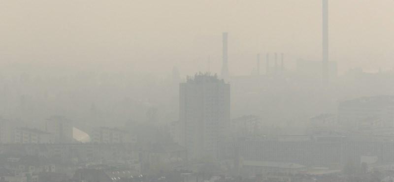 Továbbra is borzasztó a levegő minősége Észak-Magyarországon több helyen