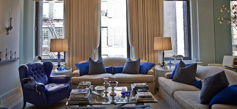 A nap képe: egy mértékeadó kék penthouse