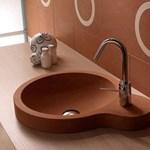 Luxus mosdókagylók egyetlen márványtömbből