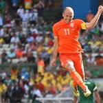 Hollandia-Costa Rica - tizenegyesekkel 4-3