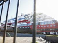 Többtucatnyi koronavírus-fertőzöttet találtak egy norvég turistahajón