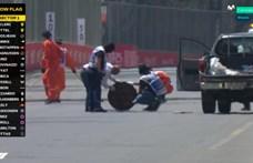 Elképesztő baki miatt lefújták a bakui F1-es szabadedzést – videó