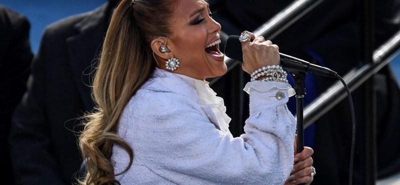 Volt egy kis csavar Jennifer Lopez fellépésében az elnöki beiktatáson