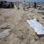 Több mint száz halottat mosott partra a víz Libiánál - fotók