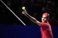 Simán hozta 1500. meccsét Federer