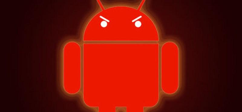 Androidos mobilja van? És van rajta vírusirtó? Jó eséllyel kidobhatja