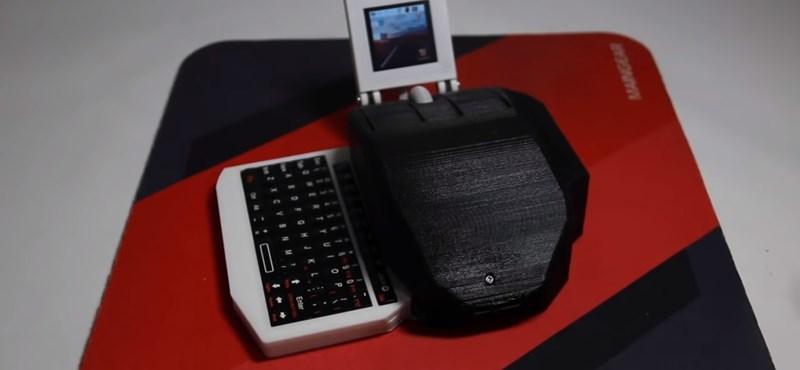 Ez az egér egy komplett számítógép, még monitor is van hozzá