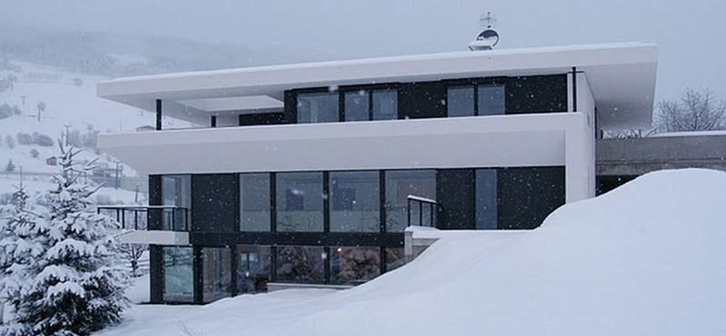 Stílusos passzívház az olasz Alpokban