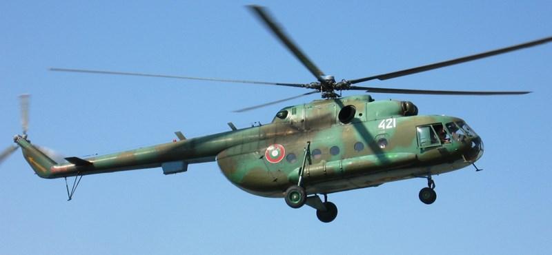 Furcsa állapotban jöttek haza az orosz javításról a magyar helikopterek