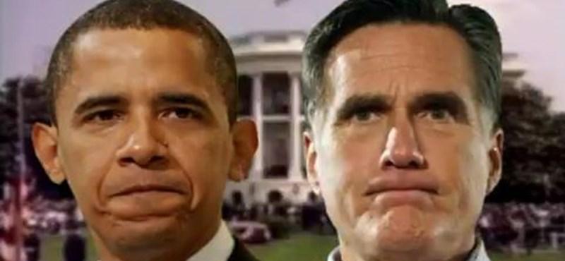 """""""Kérjenek kölcsön a szüleiktől"""" - a felsőoktatáson kapott össze Obama és Romney"""