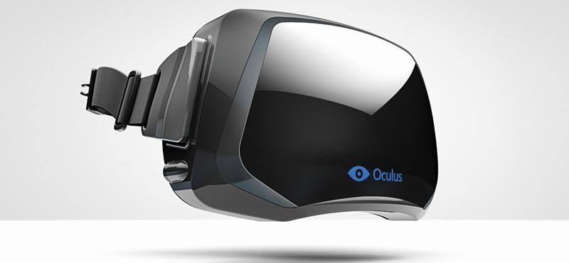Itt a Facebook VR-szemüvege