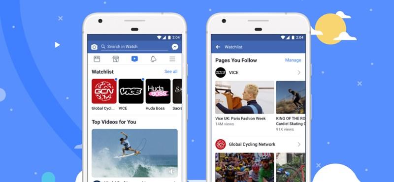 Magyarországon is elindul a Facebook tévéje, jönnek a sorozatok és a minihíradók