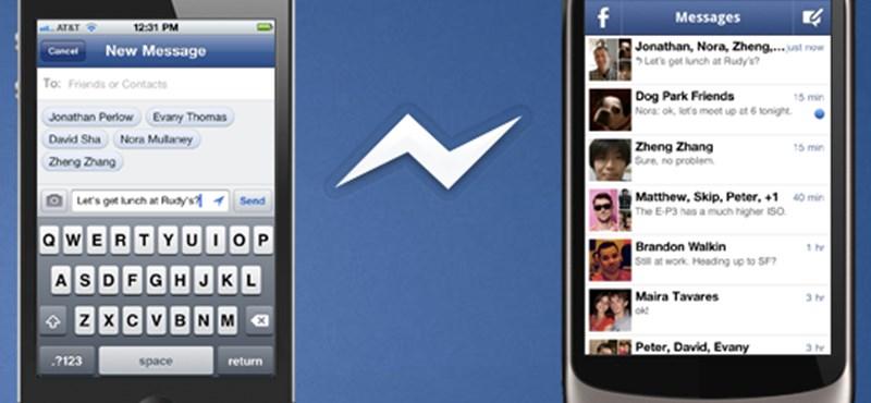 Ultimátumot küld felhasználóinak a Facebook, változik a mobilos üzenetküldés
