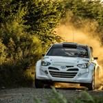 Már tesztelik a ralizásra szabott i20-as Hyundait - fotók