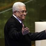 Kolumbiában lobbizik a palesztin államért Abbász