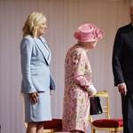 II. Erzsébet királynőnél járt Joe Biden és a First Lady
