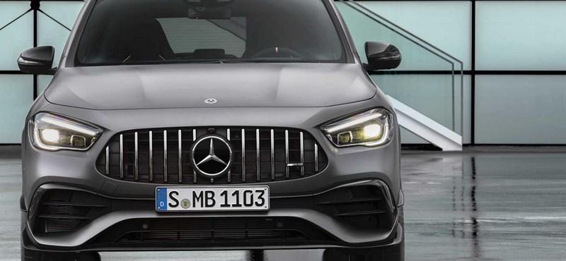Itt a Mercedes 421 lóerős kompakt szabadidőautója