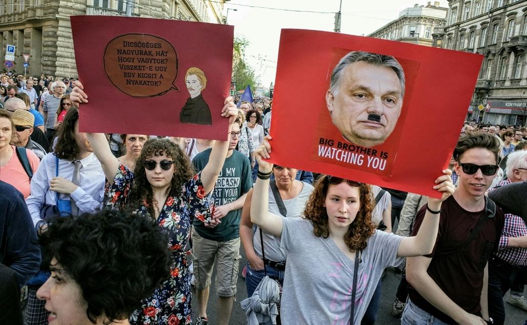 tg.18.04.16. - Mi vagyunk a többség tüntetés kossuth tér oktogon