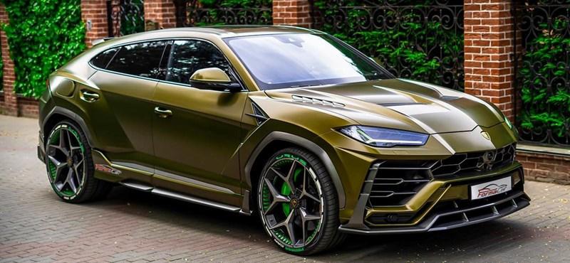 Jól áll a Lamborghini Urusnak, ha minél extrémebb