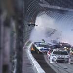 Videó: Erre a NASCAR-balesetre tényleg nincsenek szavak