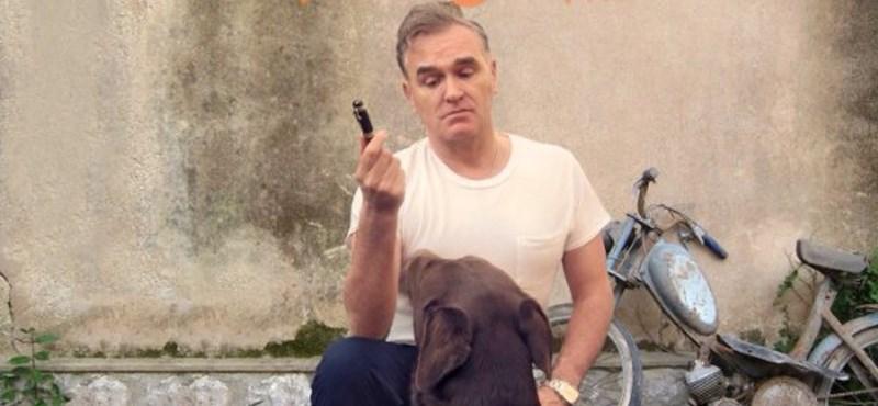 """""""Majd pihenek, ha meghalok"""" - rákkal küzd Morrissey"""