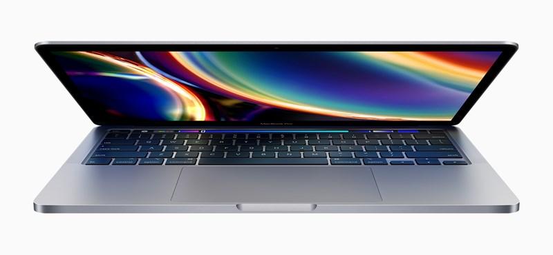 """Brutális erő 1,5 millió forintért: megjött a frissített MacBook Pro 13"""""""