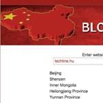 A techline-t nem blokkolják Kínában! És más oldalakat?