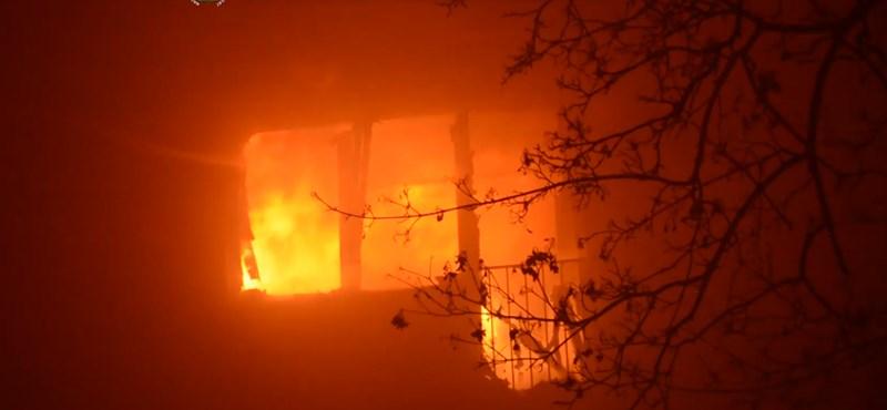 Szándékos gyújtogatás miatt égett ki a Károli kollégiuma