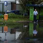 Íme a képek a hétfő reggeli özönvízről