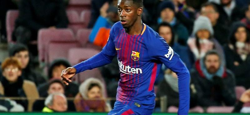 Egy hónapra kidőlt a Barcelona sztárja