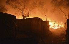 Új helyre költöztetik a leégett leszboszi menekülttábor lakóit