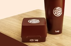 Betétdíjas csomagolást tesztel a Burger King