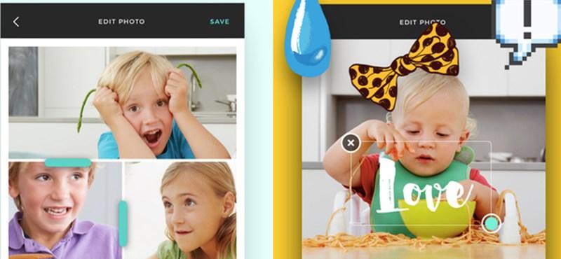 Gyorsan összepakolhat néhány mobilos fotót ezzel az ingyenes alkalmazással