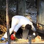 Nagy erejű pokolgép robbant Athénban