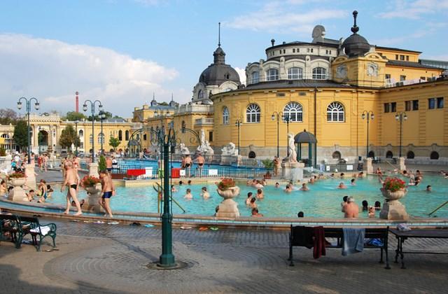 Széchenyi fürdő - Budapest