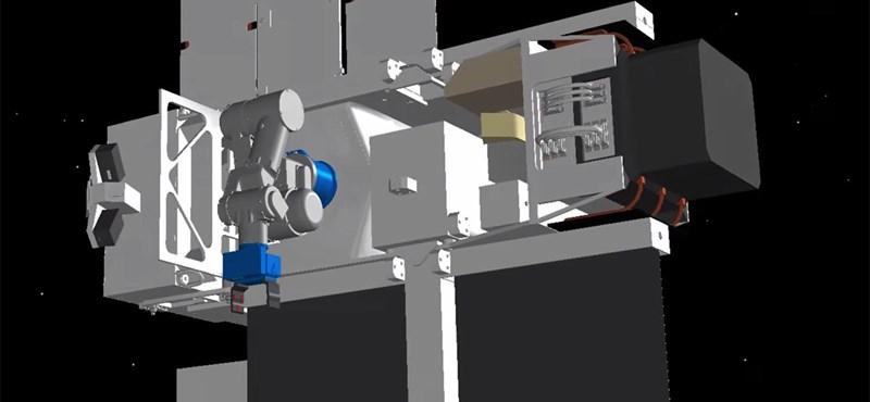 Sci-fiből valóság: 3D-nyomtatással készülhetnek az űrben az űrhajók napelemei