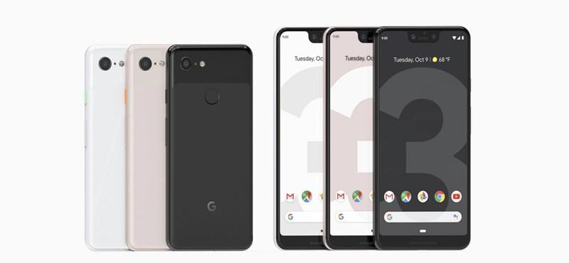 Hivatalos: bejelentette új csúcstelefonjait a Google