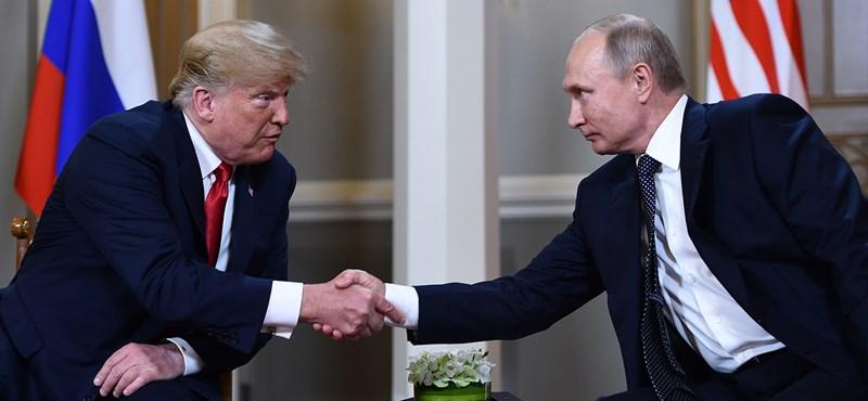 Találkoztak, négyszemközt tárgyal Trump és Putyin