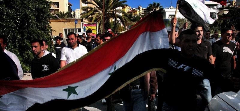 Újabb tüntetőket öltek meg Szíriában